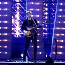 George Ezra durante su actuación en los Brit Awards 2015