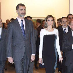 Los Reyes Felipe y Letizia en la inauguración de ARCO 2015