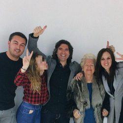 La familia de Belén Esteban y Toño Sanchís en Telecinco