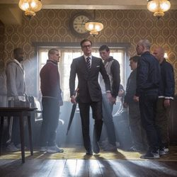 Colin Firth en 'Kingsman: Servicio Secreto'