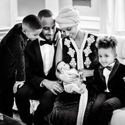 Alicia Keys y Swizz Beatz presentan a su hijo Genesis Ali Dean