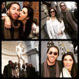 Pilar Rubio y Sergio Ramos disfrutan de una escapada con amigos en Florencia
