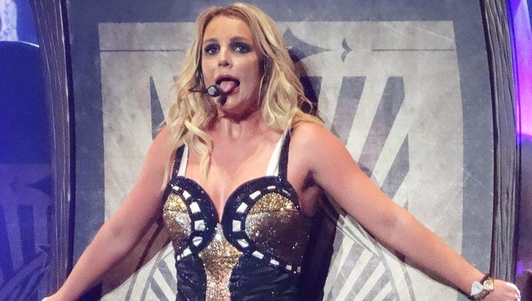 Britney Spears en el concierto 'Piece of Me' de las Las Vegas