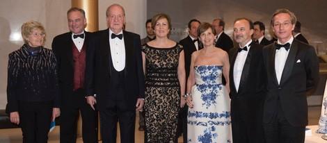 El Rey Juan Carlos en la inauguración del festival 'Iberian Suite: Global Arts Remix'
