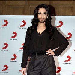 Conchita Wurst presenta en Berlín su autobiografía y su nuevo single