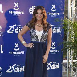 Merche en los Premios Cadena Dial 25 Aniversario