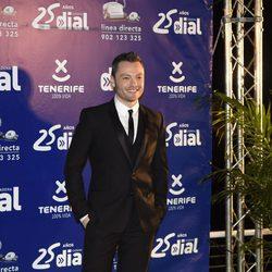 Tiziano Ferro en los Premios Cadena Dial 25 Aniversario