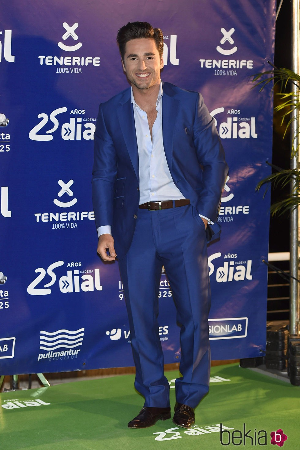David Bustamante en los Premios Cadena Dial 25 Aniversario