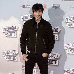 Andrés Velencoso en el estreno de 'Perdiendo el Norte'
