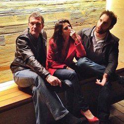 Antonio Banderas, Clara Lago y Dani Rovira celebran el cumpleaños de la actriz