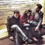 Antonio Banderas, Clara Lago y Dani Rovira estallan en carcajadas de fiesta
