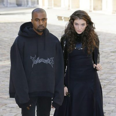 Kanye West y Lorde llegan al desfile de Christian Dior en la Paris Fashion Week 2015
