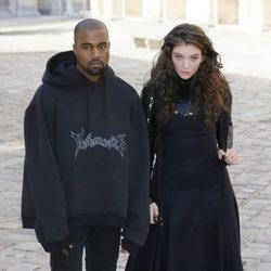 Kanye West y Lorde llegan al desfile de Christian Dior en la Paris Fashion Week 2015