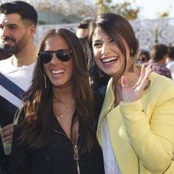 Anabel Pantoja y Ares Teixidó en el bar de copas de Kiko Rivera en Sevilla