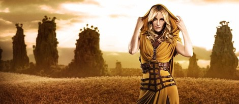 Edurne, convertida en guerrera helena para 'Amanecer'