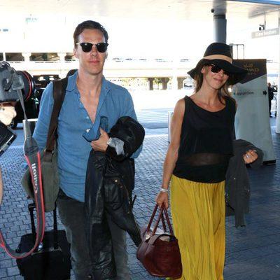 Benedict Cumberbatch y Sophie Hunter vuelta de la luna de miel
