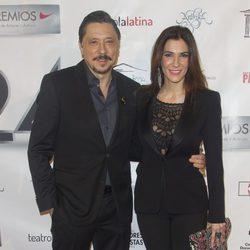 Carlos Bardem y Cecilia Gessa en la entrega de los Premios Unión de Actores 2015