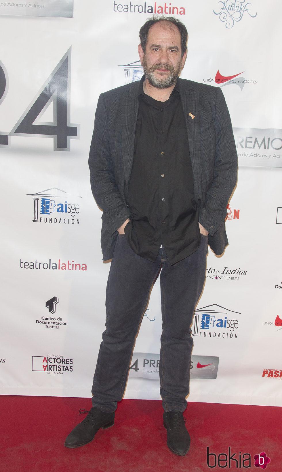 Karra Elejalde en la entrega de los Premios Unión de Actores 2015