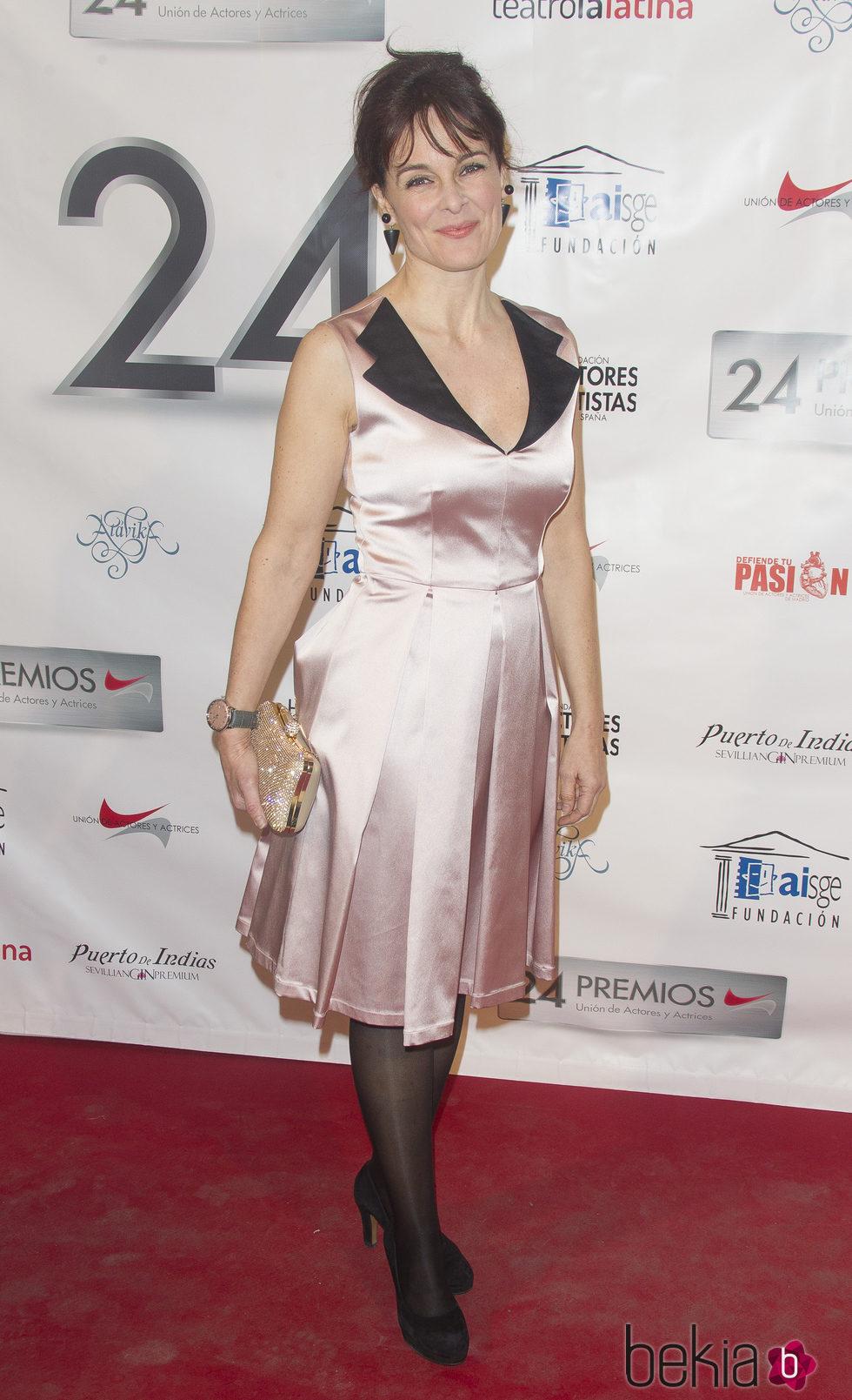 Silvia Marsó en la entrega de los Premios Unión de Actores 2015