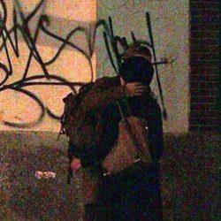 Eva Mendes y Ryan Gosling besándose en Nueva York