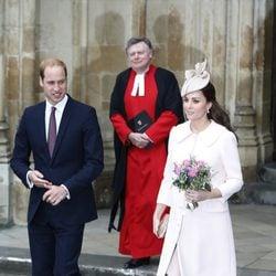 El Príncipe Guillermo y Kate Middleton celebran el Día de la Commonwealth 2015