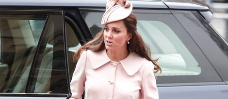 Kate Middleton luce embarazo en el Día de la Commonwealth 2015