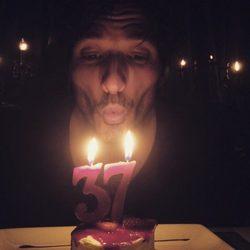 Andrés Velencoso celebra su 37 cumpleaños