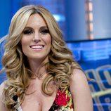 Edurne promocionando su 'Amanecer' de Eurovisión 2015 en 'El hormiguero'