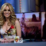 Edurne presentando el videoclip de 'Amanecer' en 'El hormiguero'