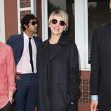 Kaley Cuoco en la entrega de la estrella del Paseo de la Fama de Hollywood a Jim Parsons