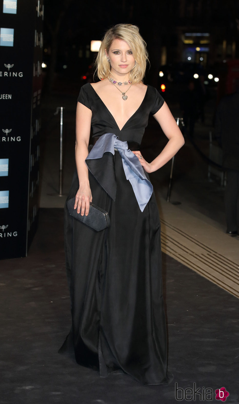 Dianna Agron en la inauguración de la exposición de Alexander McQueen en Londres