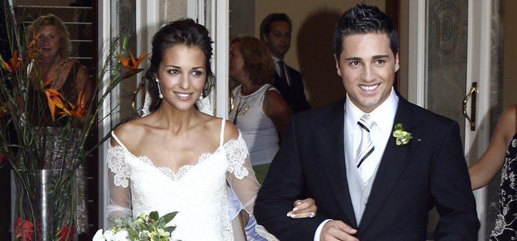 Paula Echevarría y David Bustamante en su boda