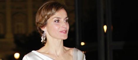 La Reina Letizia en la ópera 'El Público' en el Teatro Real