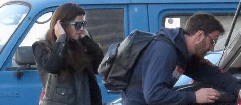 Dani Rovira y Clara Lago hacen el equipaje para marcharse de Málaga
