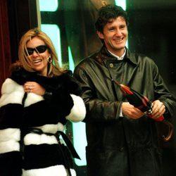 Ana Obregón y Davor Suker pasean su amor por Londres en 1997