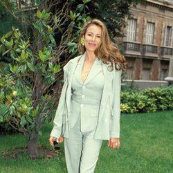 Ana Obregón durante un acto público en la década de los noventa