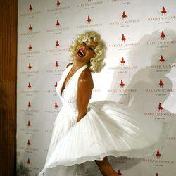 Ana Obregón en el homenaje a Marilyn Monroe celebrado en Marbella