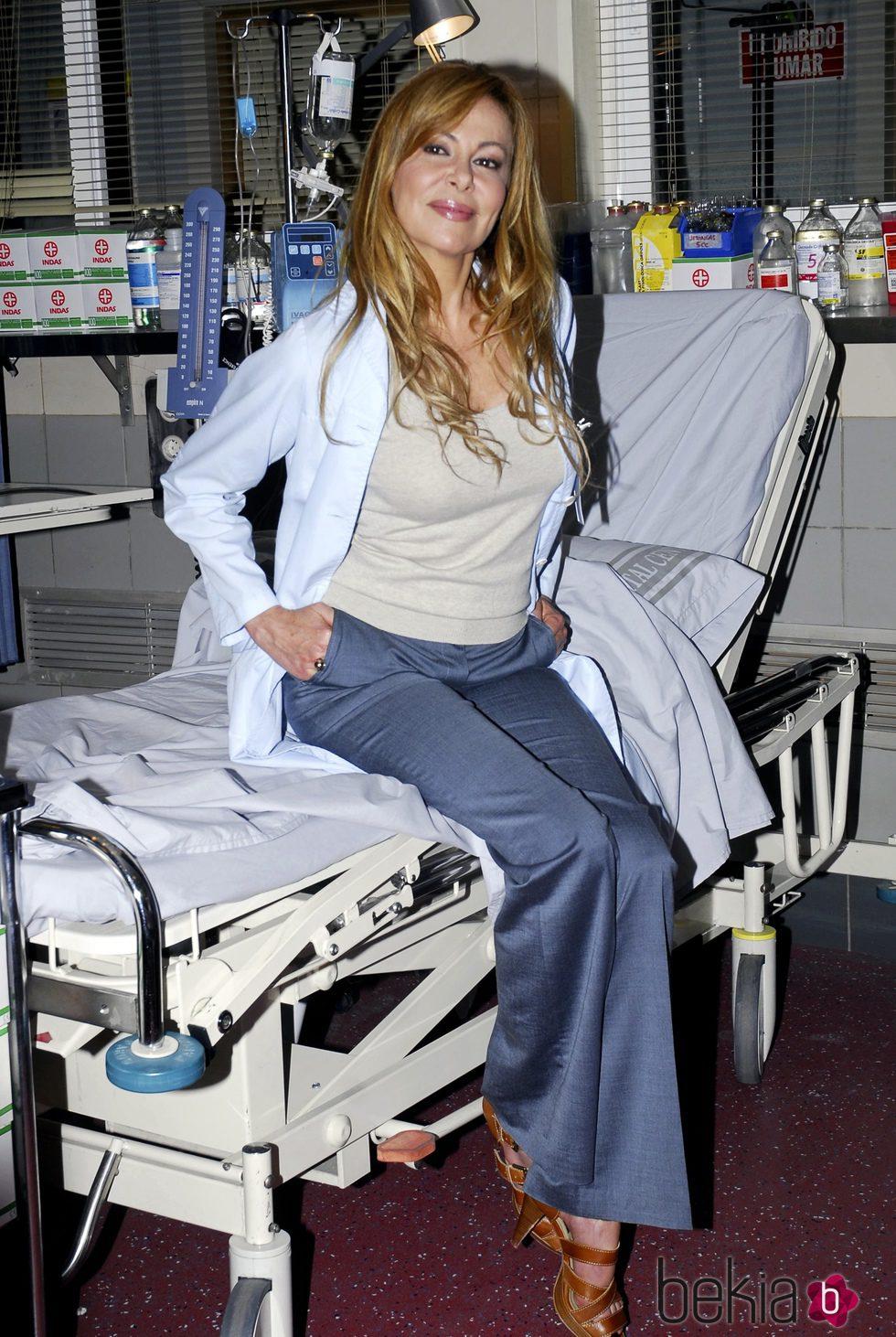 Ana Obregón en la presentación de la 15ª temporada de 'Hospital Central'