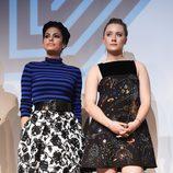 Eva Mendes y Saoirse Ronan promocionan la película 'Lost River'