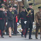 Los Duques de Cambridge en el Día de San Patricio 2015