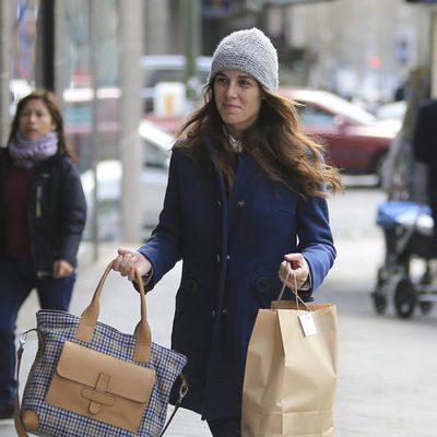 Raquel Sánchez Silva acude a una revisión ginecológica para controlar su embarazo