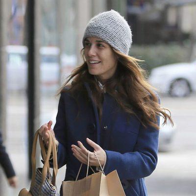 Raquel Sánchez Silva pasea su embarazo con una sonrisa