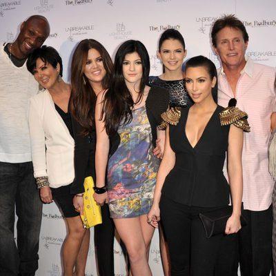 La familia Kardashian en el almuerzo 'Unbreakable' de 2011