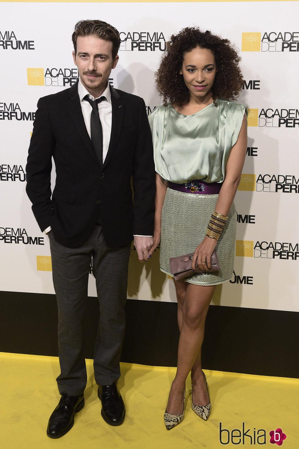 Víctor Clavijo y Montse Pla en los Premios de la Academia del Perfume 2015
