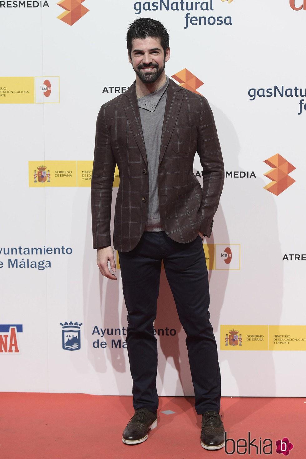 Miguel Ángel Muñoz en la presentación del Festival de Málaga 2015