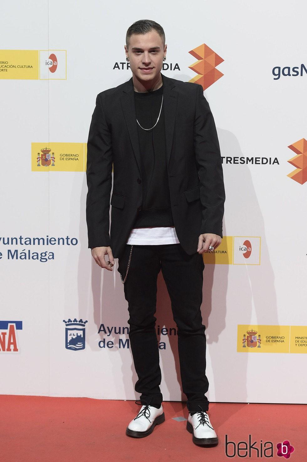 Adrián Rodríguez en la presentación del Festival de Málaga 2015
