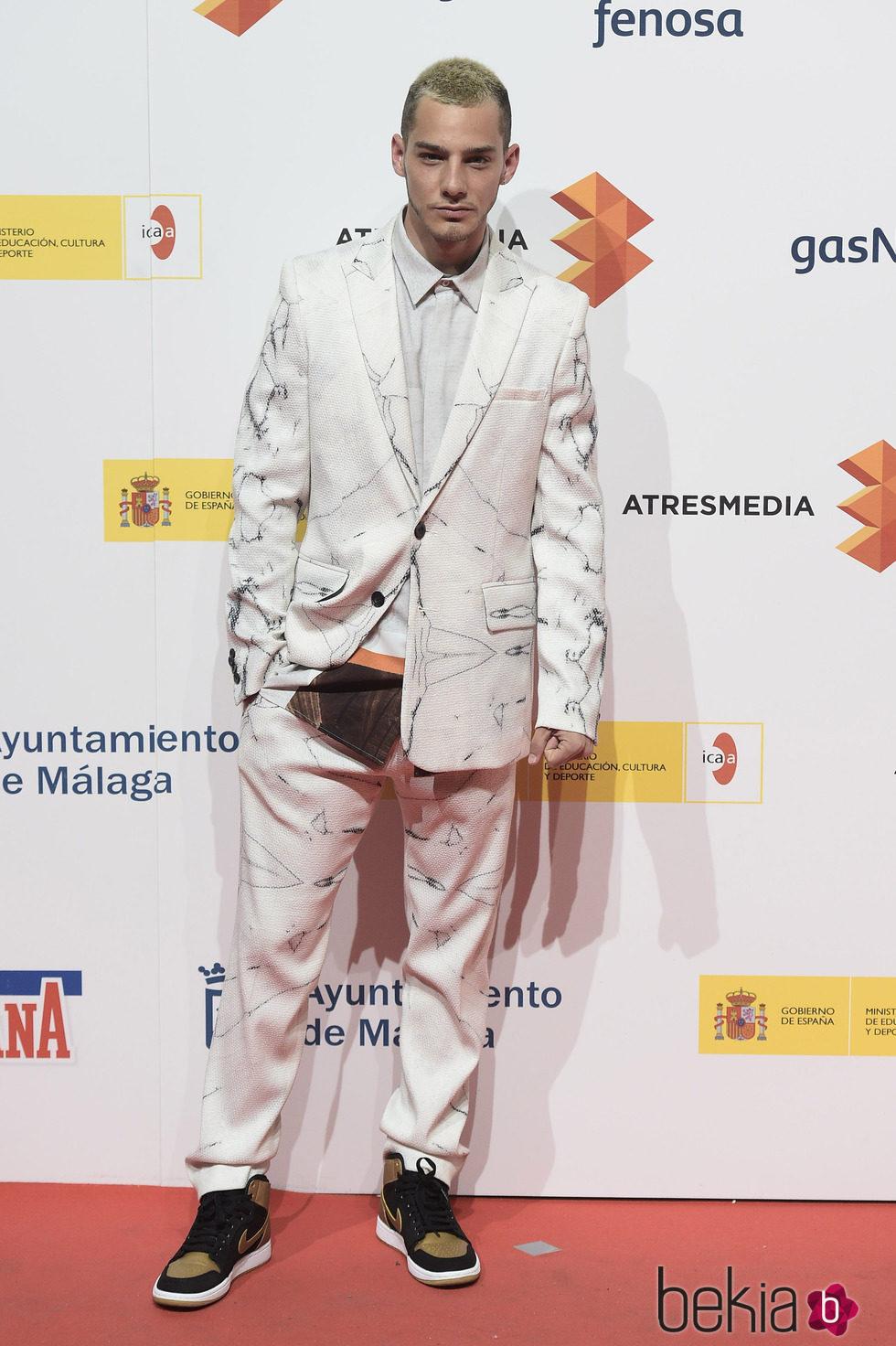 Joel Bosqued en la presentación del Festival de Málaga 2015