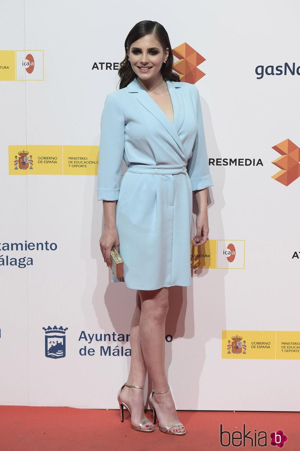 Andrea Duro en la presentación del Festival de Málaga 2015