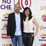 Javi Nieves y Mar Amate en el concierto 'La noche de Cadena 100'