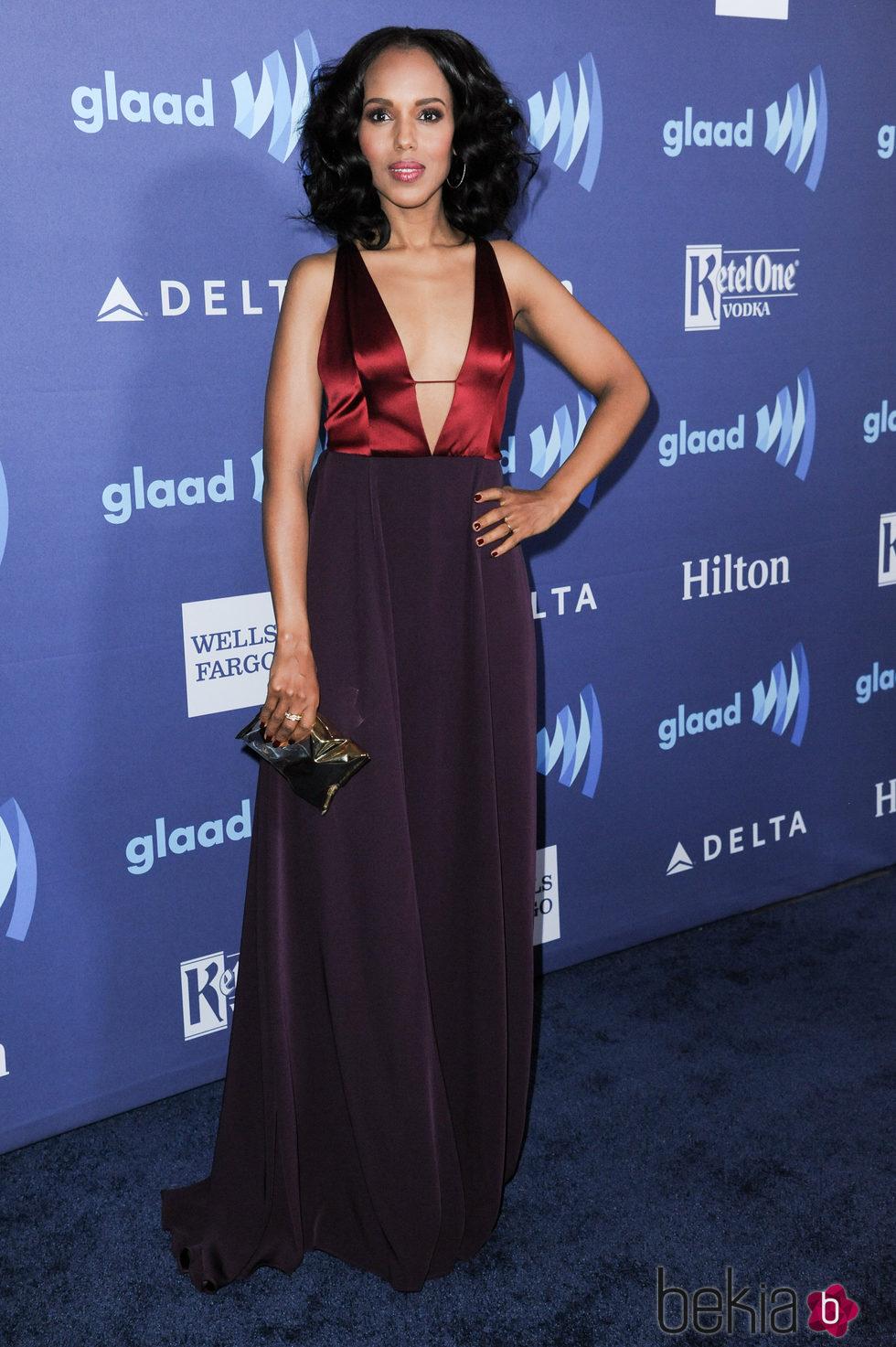 Kerry Washington en los GLAAD Media Awards 2015